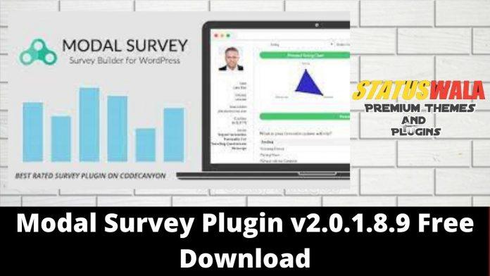 Modal Survey Plugin v2.0.1.8.9 Free Download