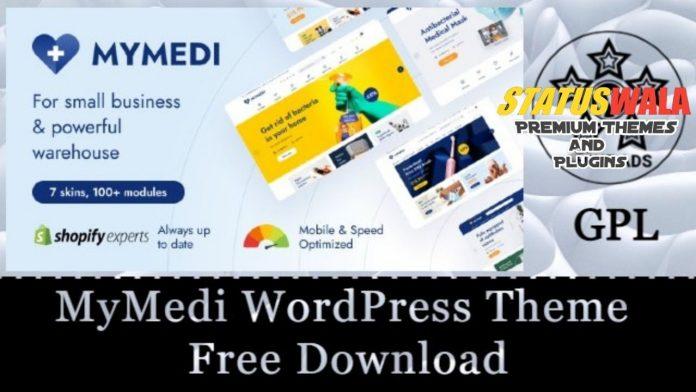 MyMedi WordPress Theme v1.2.2 Free Download [GPL]